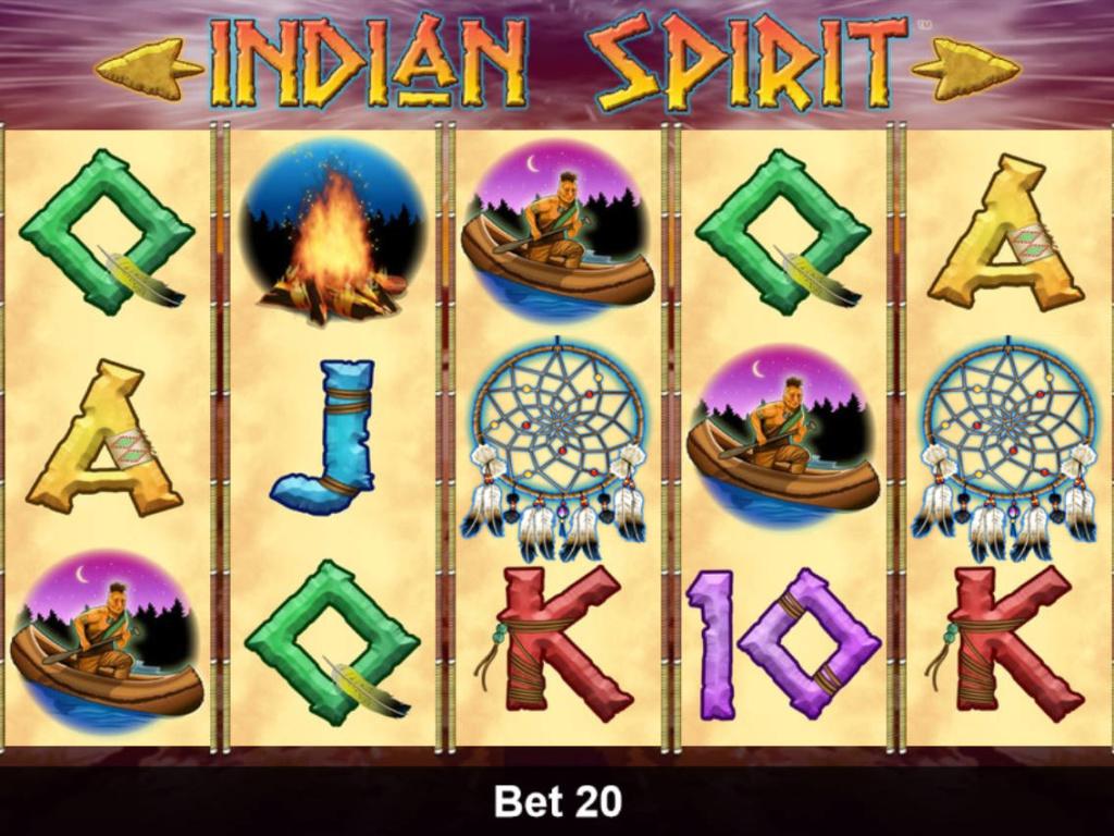 Online automatová hra Indian Spirit zdarma