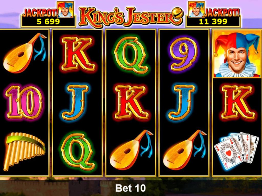 Casino automat King's Jester online