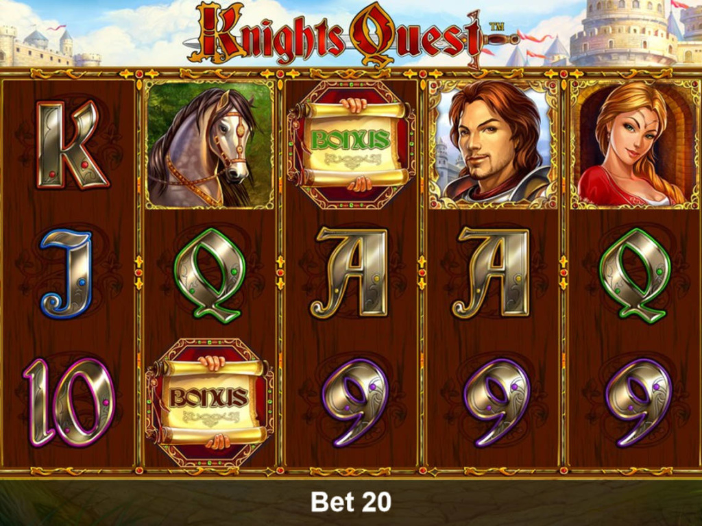 Výherní automat Knights Quest online zdarma