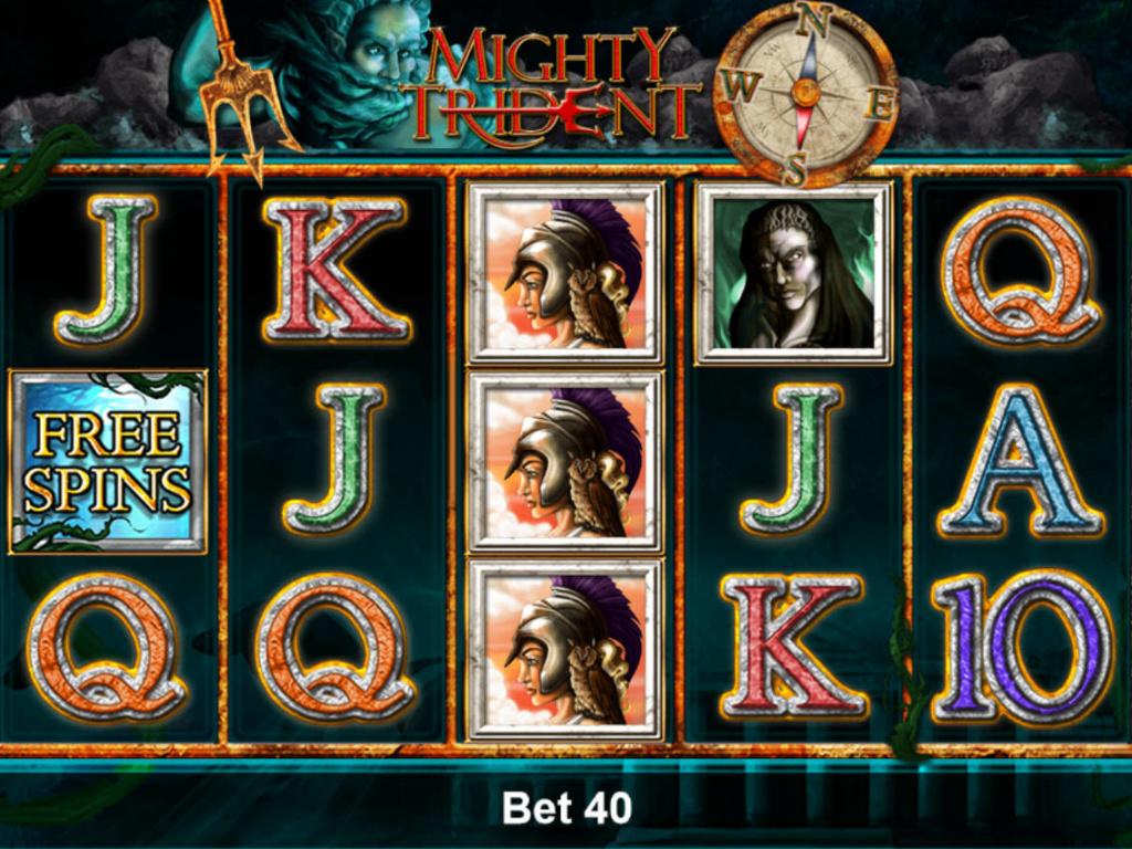 Online automatová hra Mighty Trident zdarma, pro zábavu