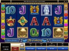 Casino hra Ruby Avalon online zdarma