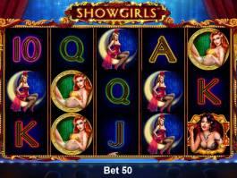 Automatová hra Showgirls zdarma, pro zábavu