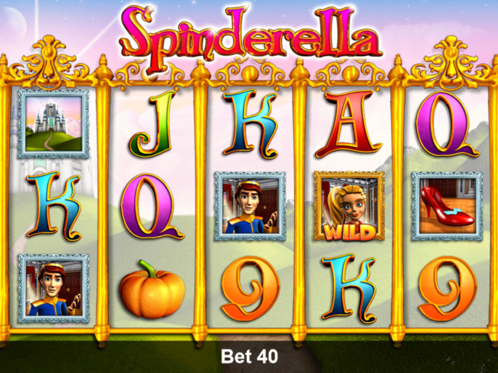 Online casino hra Spinderella pro zábavu