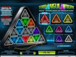 Casino hra Triangulation online zdarma, pro zábavu