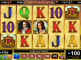 Online casino hra Versailles Gold zdarma, bez vkladu