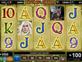 Online herní automat Witches´Charm zdarma