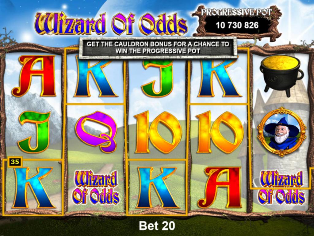 Casino automat Wizard of Odds online zdarma