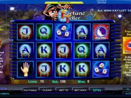 Obrázek ze hry automatu Fortune Teller - Amaya