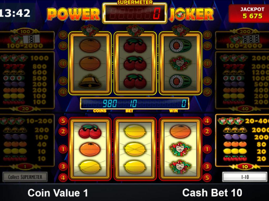 Casino hra Power Joker zdarma