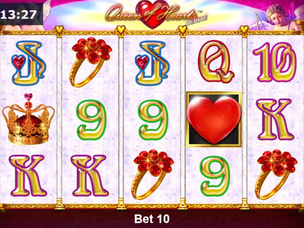 Herní automat Queen of Hearts Deluxe bez registrace