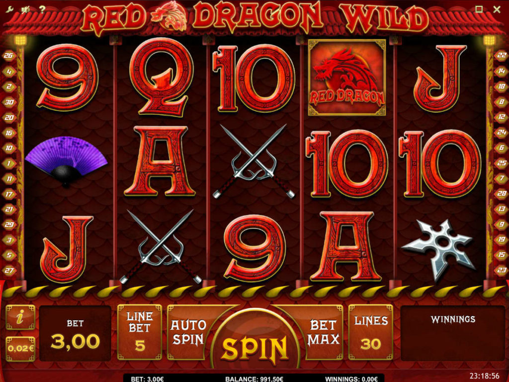 Obrázek ze hry Red Dragon Wild online