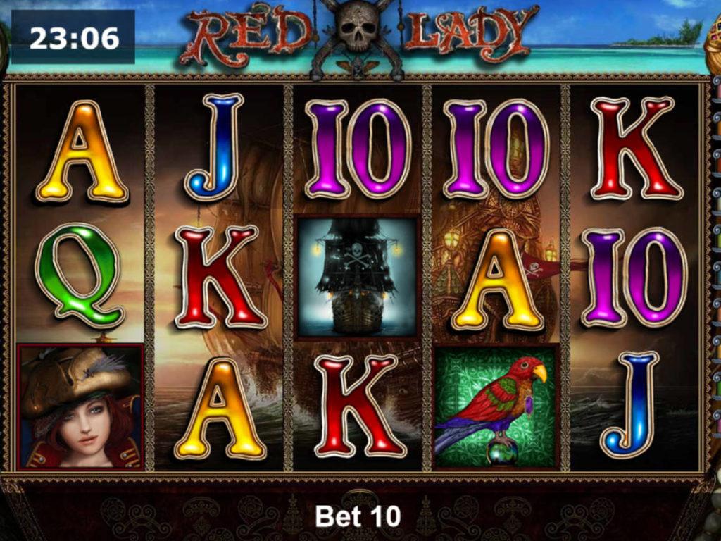 Hrací automat Red Lady online zdarma