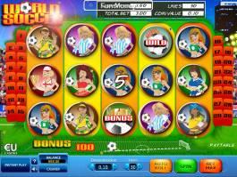 Herní automat World Soccer zdarma bez vkladu