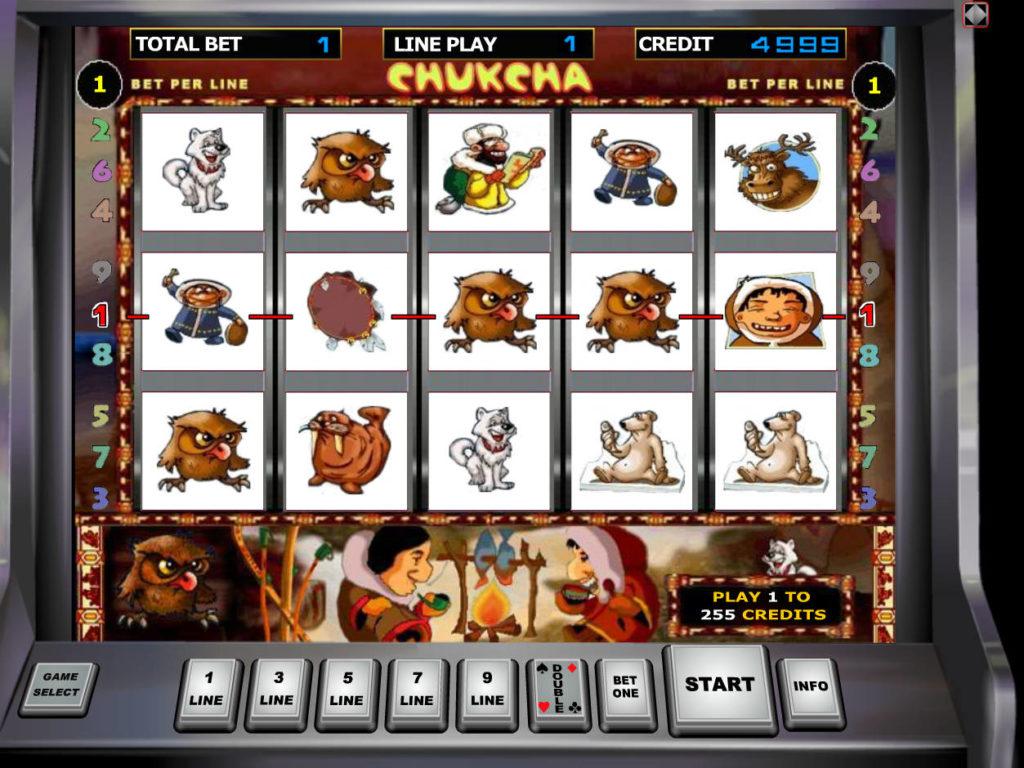 Herní automat Chukchi Man zdarma