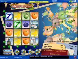 Online automat Jackpot Holiday bez registrace