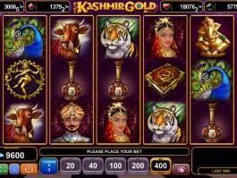 Hrací kasino automat Kashmir Gold