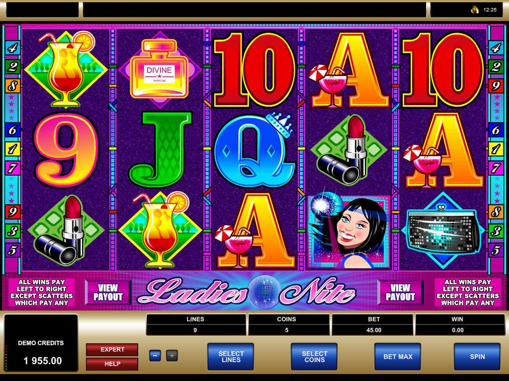 Casino automat Ladies Nite bez registrace