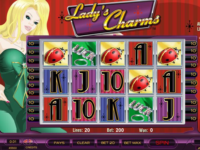 Herní online automat Lady's Charms