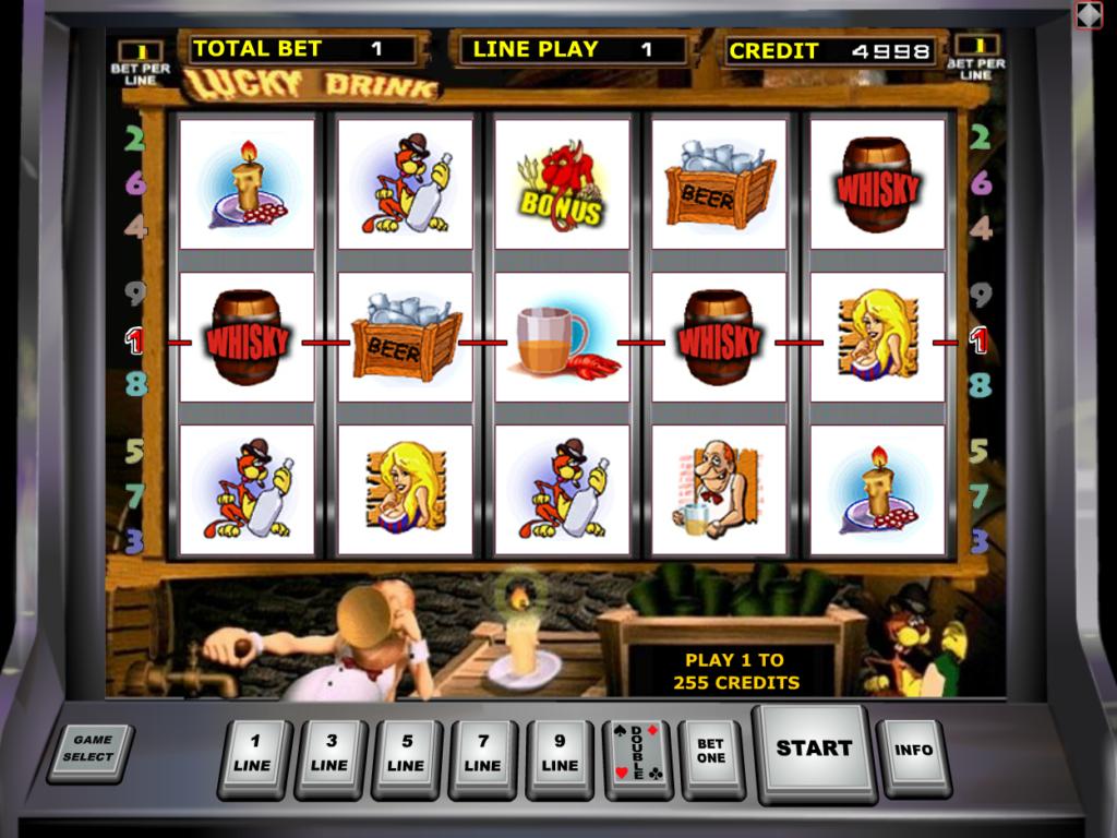 Herní automat Lucky Drink