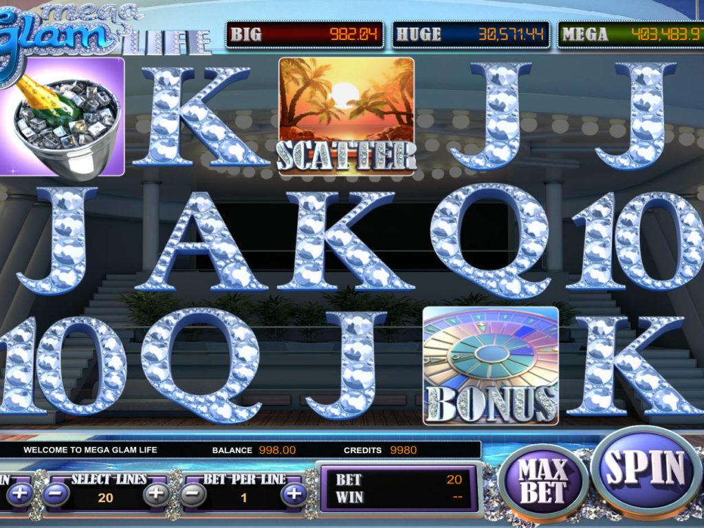 Automat Mega Glam Life online zdarma