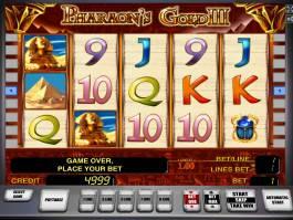 Herní casino automat Pharaoh's Gold III