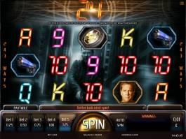 Obrázek ze hry automatu 24 zdarma