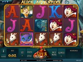 Alice Adventure zdaram bez registrace