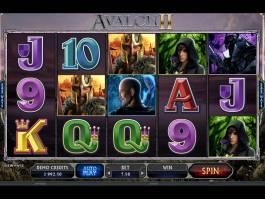 Obráze automatu Avalon II online zdarma