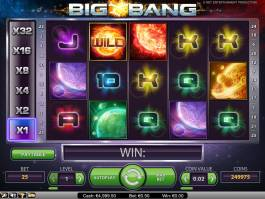 Online casino automat Big Bang