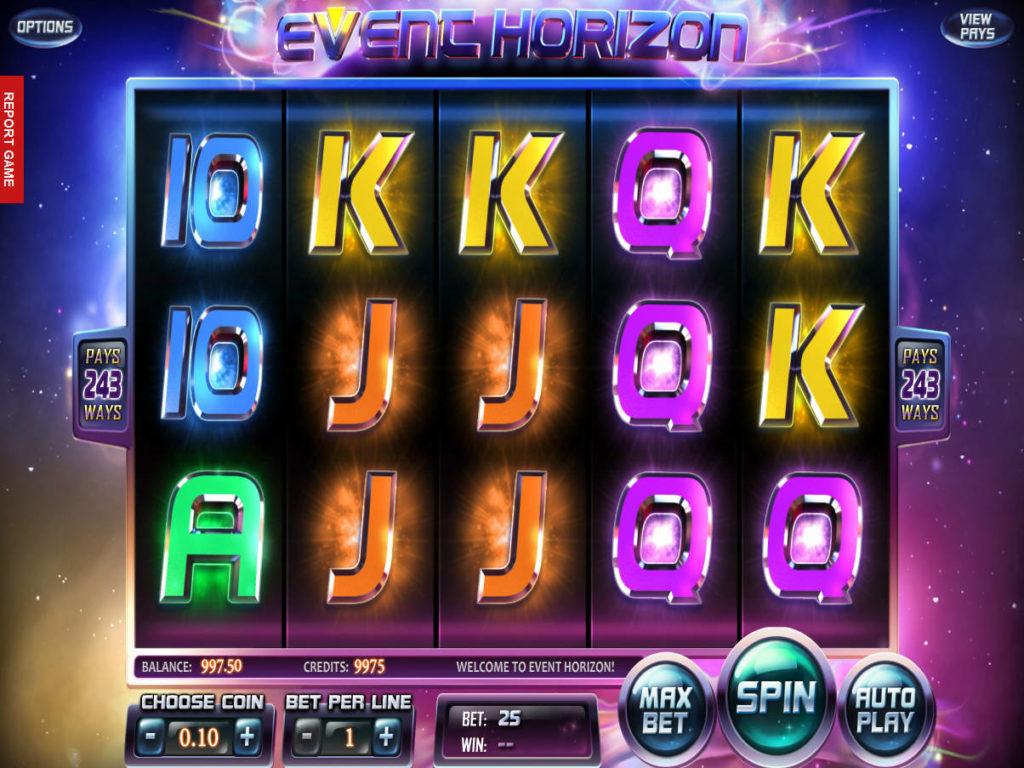 Automat Event Horizon zdarma bez registrace
