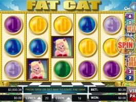 Herní automat Fat Cat online