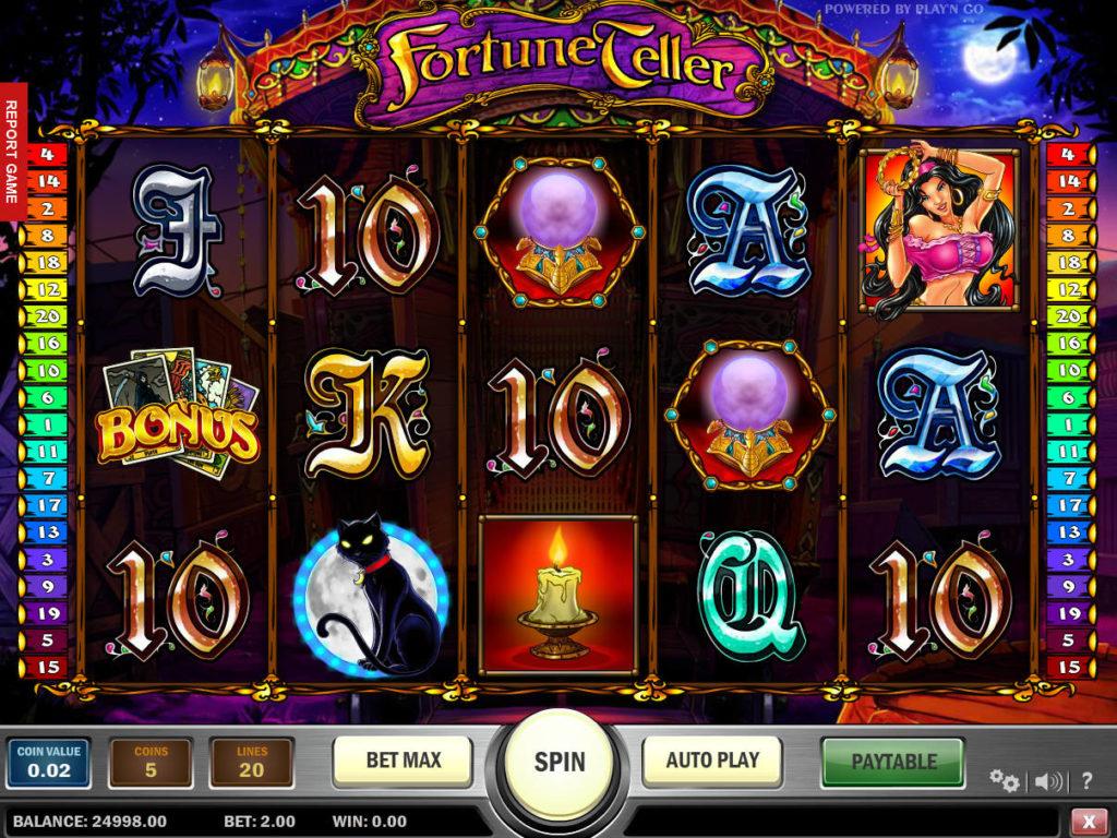 Casino automat zdarma Frotune Teller - Play'n Go