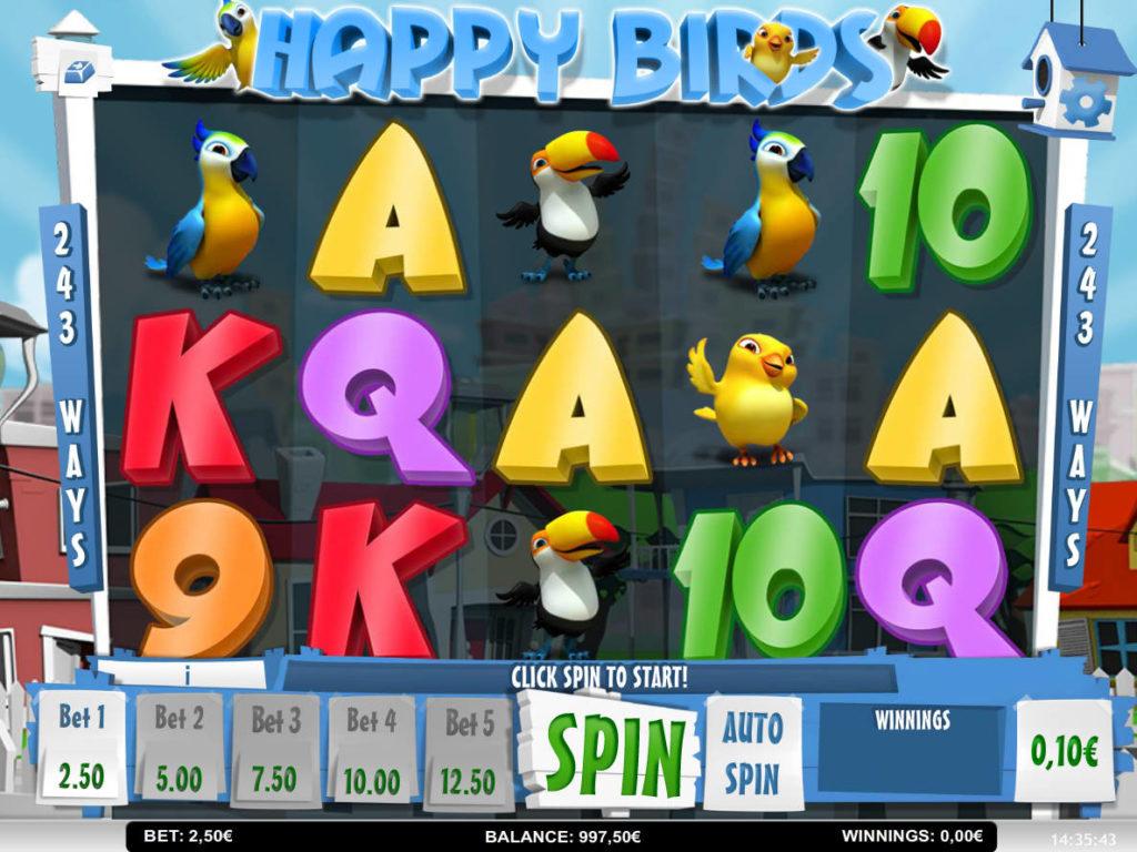 Automatová hra Happy Birds