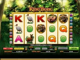 Herní online automat King Tiger zdarma