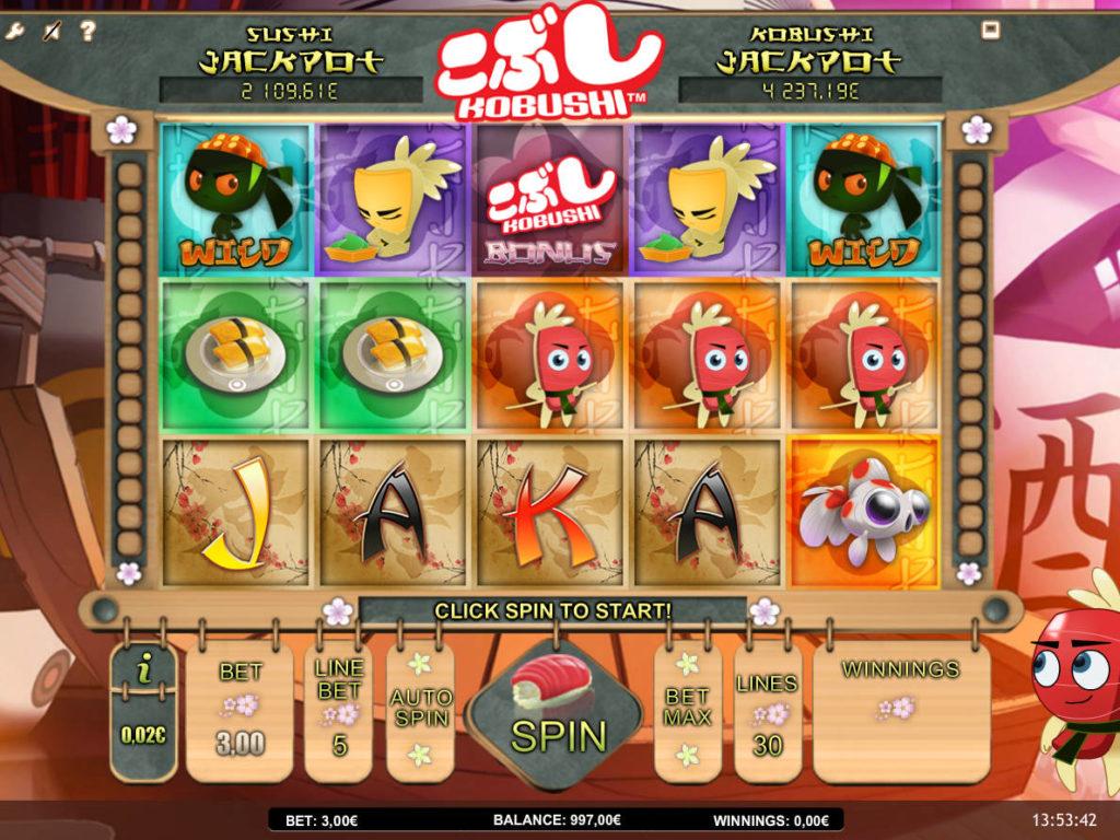 Kobushi online kasino hra zdarma