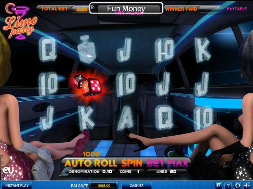 Zdarma kasino hra Limo Party
