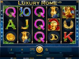 Automat Luxury Rome zdarma online