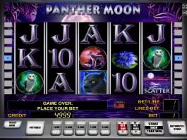 Casino automat Panther Moon zdarma bez vkladu