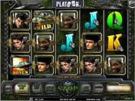 Online casino automat Platoon zdarma