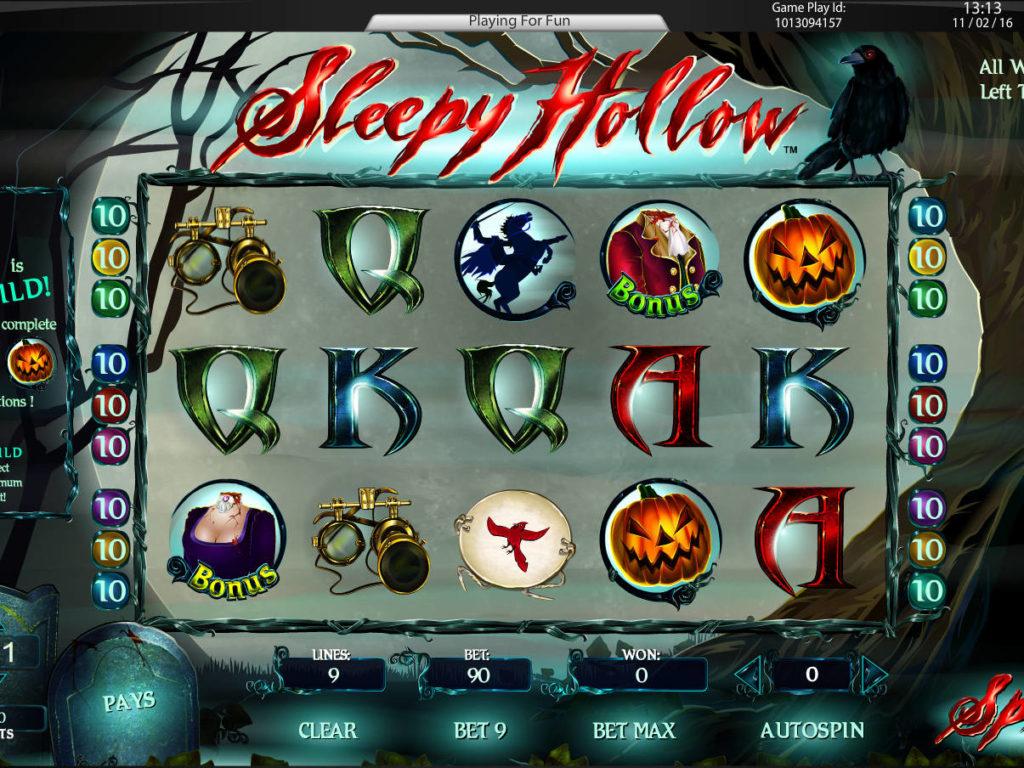 Herní automat Sleepy Hollow zdarma
