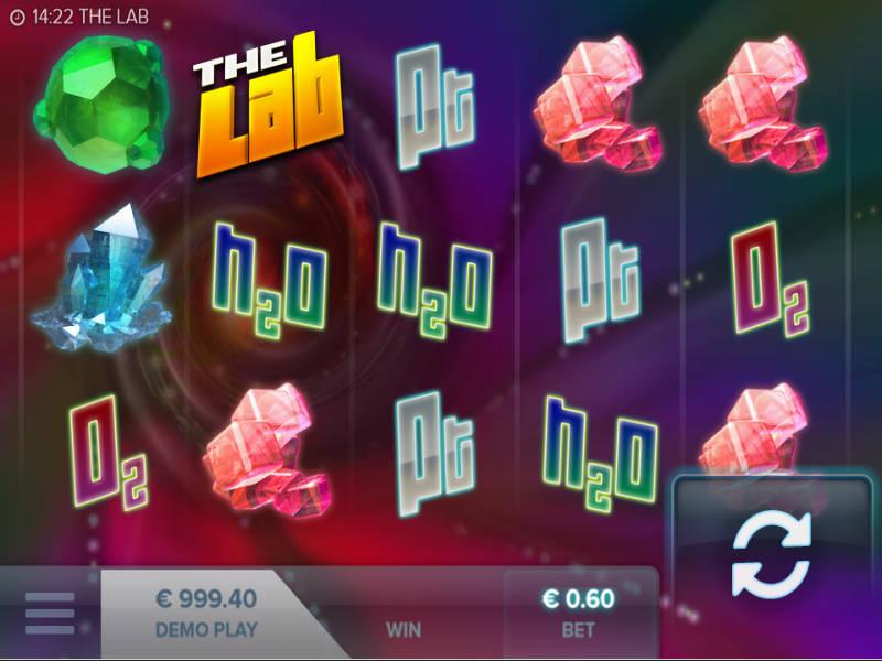 Herní kasino automat The Lab