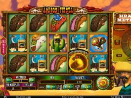 Hrací automat Amigos Fiesta od společnosti Spinomenal