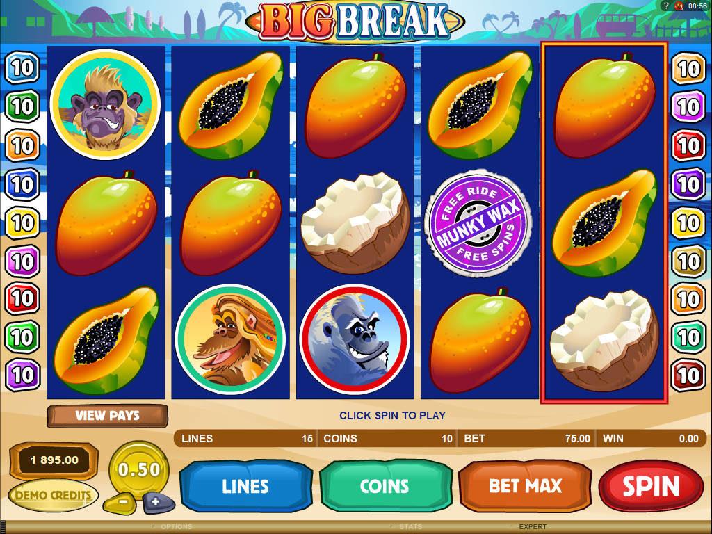 Herní online automat Big Break
