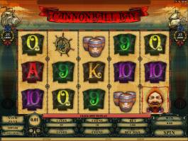 Online kasino automat Cannonball Bay bez registrace