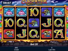 Hrací automat Cleopatra - Queen of Slots pro zábavu