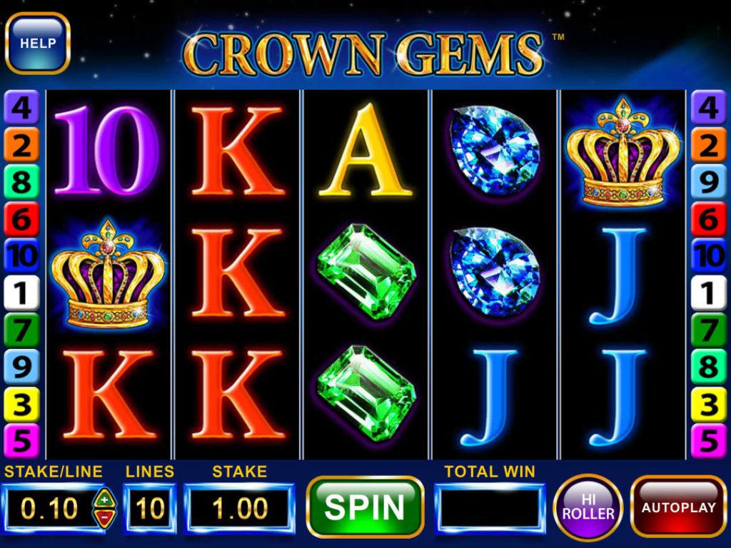 Automat Crown Gems - Hi Roller online zdarma