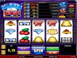 Herní automat Diamond Wild bez registrace