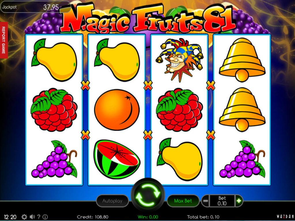 Herní automat Magic Fruits 81 online