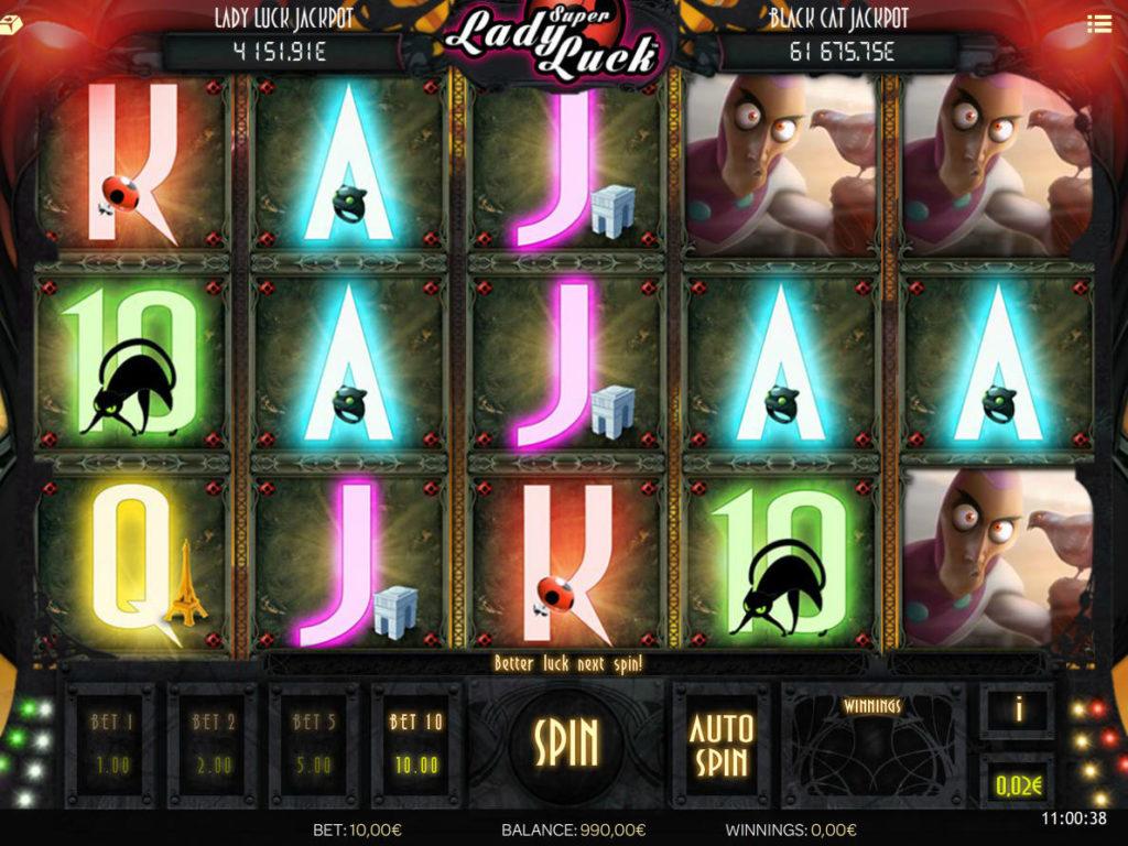 Super Lady Luck zdarma automat
