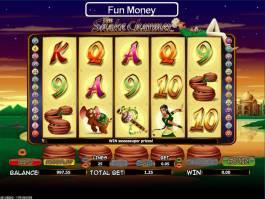 Herní casino automat The Snake Charmer pro zábavu